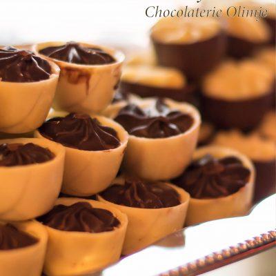 Praline rumove šalčke v temni čokoladi