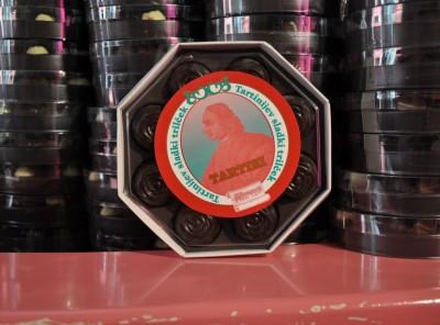 Bonboniera Tartini s temno čokolada