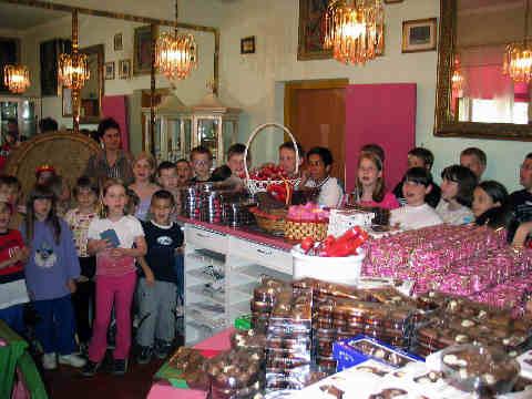Obis v Čokoladnem butiku