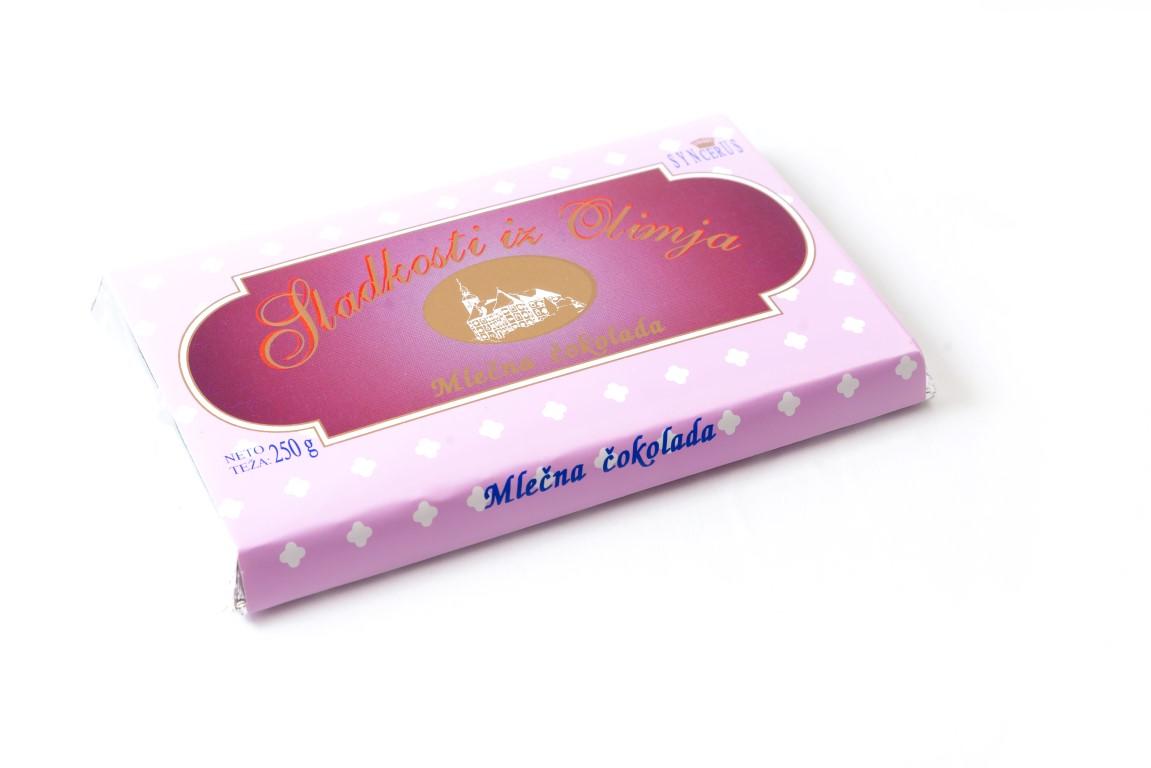 250 g mlečna čokolada