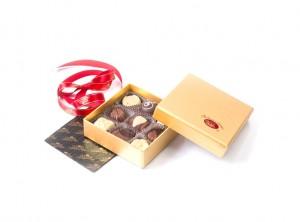 Bonboniera Zlata mala – trdi karton