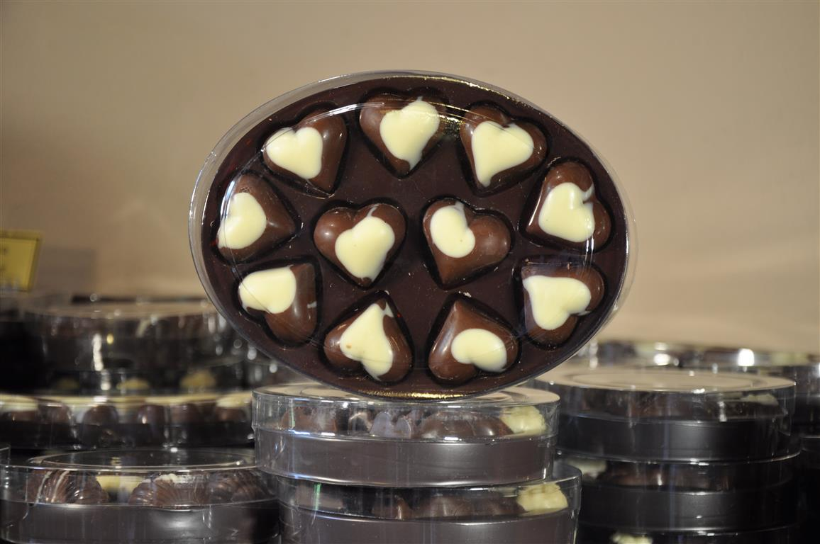 Bonboniera Ovalni srčki