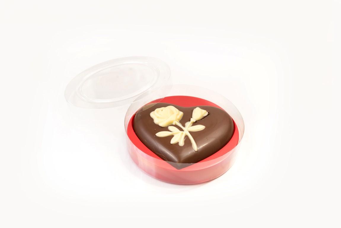 Bonboniera vrtnica srček