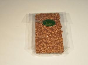 Mlečna čokolada  s ekspadiranim rižem