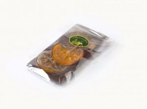 Temna čokolada s kadirano pomarančo