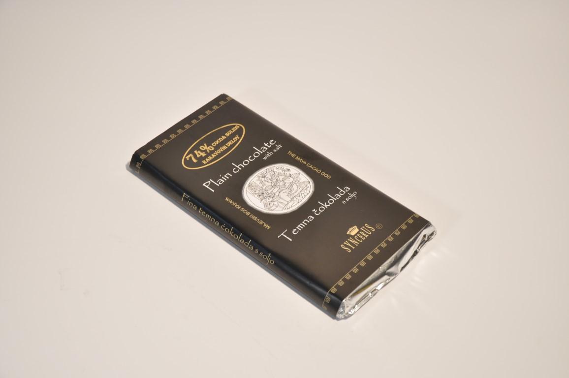 Temna čokolada s soljo