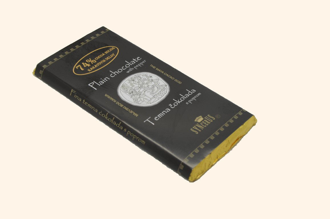 Temna čokolada s poprom